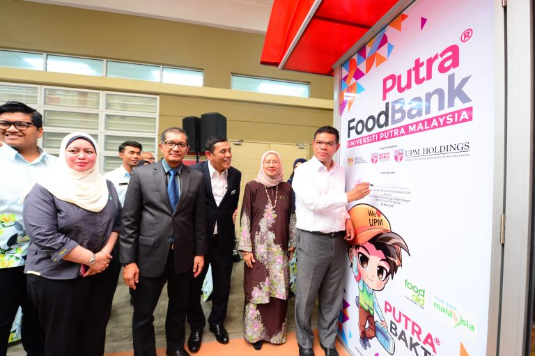 Universiti Putra Malaysia (UPM) Food Bank Siswa Program Launching