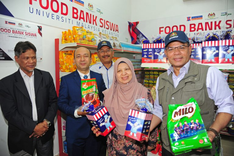 Universiti Malaysia Kelantan (UMK) Food Bank Siswa Program Launching