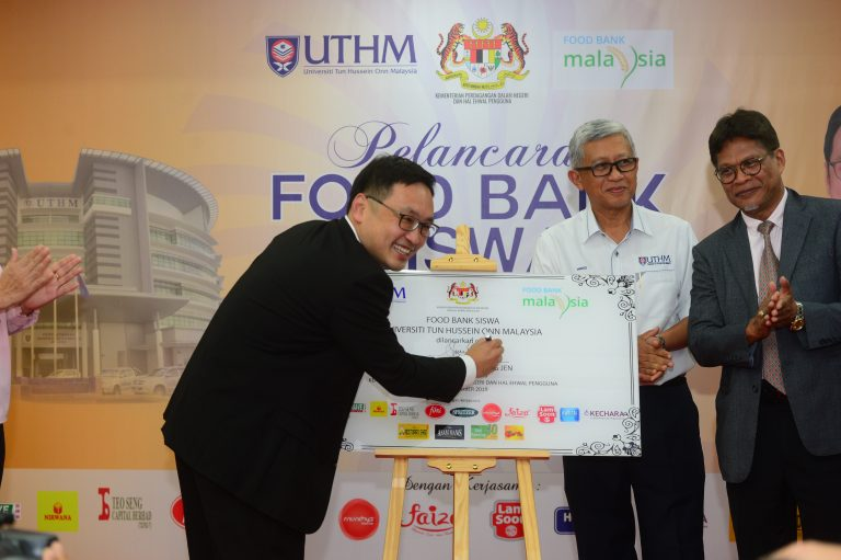 Universiti Tun Hussein Onn (UTHM) Food Bank Siswa Program Launching