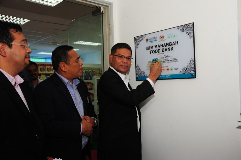 International Islamic University Malaysia (IIUM) Food Bank Siswa Program Launching